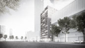Rotterdamse torens: Willemstoren door IWT & Studio for New Realities