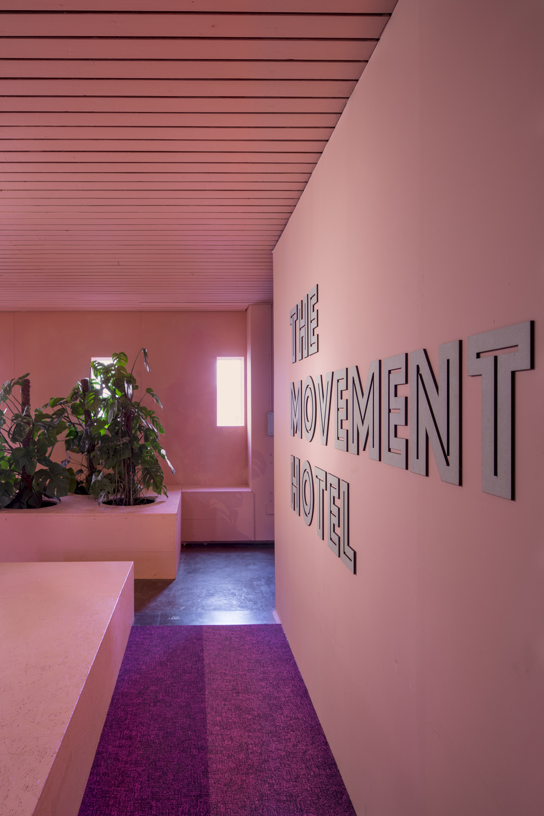 <p>The Movement Hotel in de Bijlmerbajes door ÈMCÉ interior architecture (Foto:  Wouter van der Sar en ÈMCÉ interior architecture)</p>
