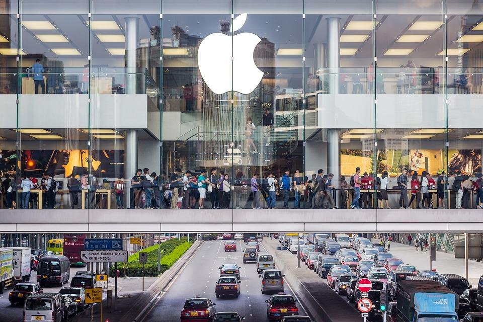 Apple Store Hong Kong, Robert_Z_Ziemi, Pixabay