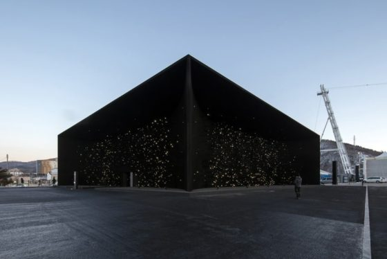 Hyundai paviljoen OS2018 Asif Khan. Foto Luke Hayes