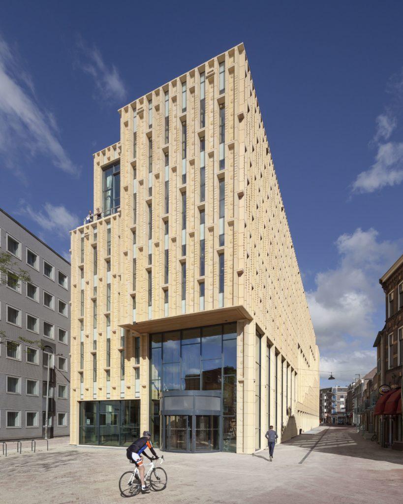 De Rozet in Arnhem voegt een nieuwe publieke ruimte toe aan de Arnhemse binnenstad. Foto scagliolabrakkee © Neutelings Riedijk Architects