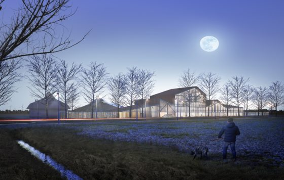 KettingHuls ontwerpt woningen op boerenerf Vliervelden in Oosterwold Almere