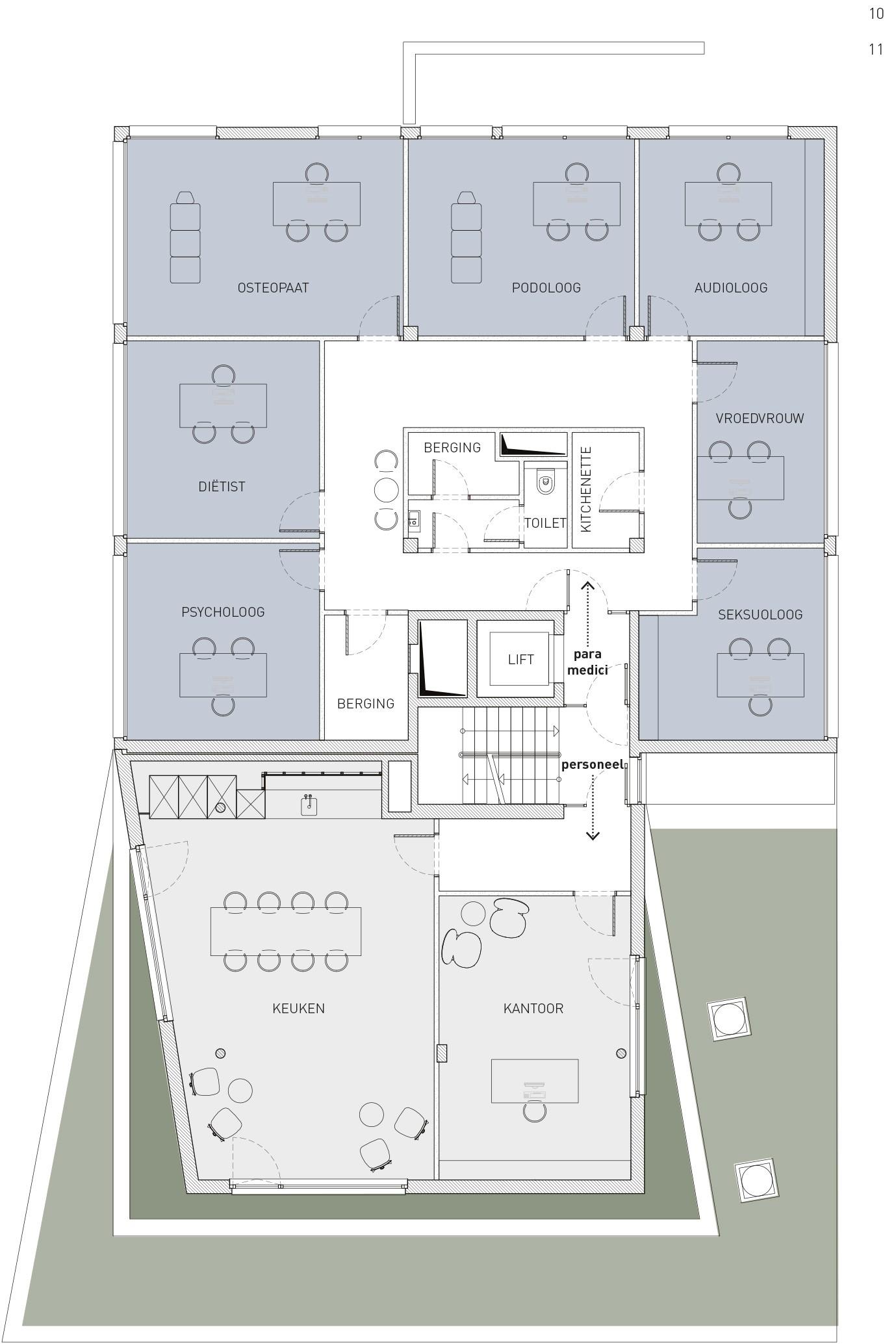 <p>Medineth 1e verdieping</p>