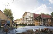 KettingHuls ontwerpt woningen op boerenerf Vliervelden