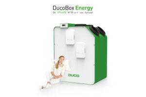 DucoBox Energy wereldprimeur in ventilatie