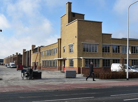 Ver- en herbouw fabriekshal en kantoren Agrifac Steenwijk - B+O Architecten