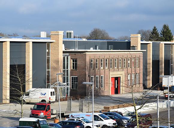 <p>Ver- en herbouw fabriekshal en kantoren Agrifac Steenwijk – B+O Architecten</p>