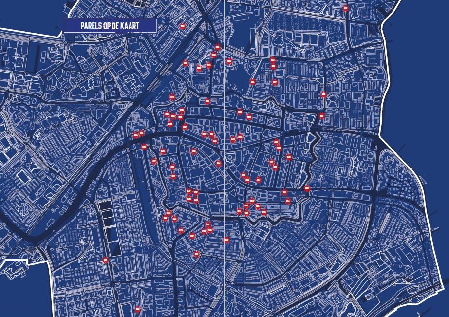 Leiden Architectuurparels op de Kaart_Fons Verheijen