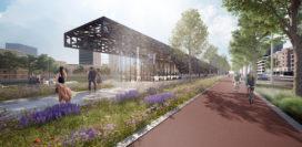 Definitief ontwerp Leuvepaviljoen Rotterdamse binnenstad