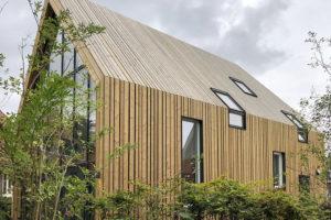 Houten woonhuis Amsterdam-Noord – ORGA architect