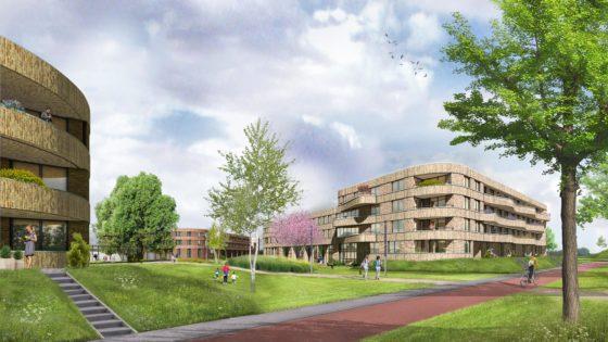 'Het Zand' wordt duurzaam sport- en woonpark in Ridderkerk