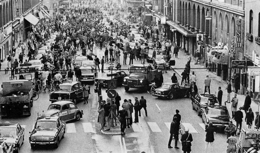 Dagen H op 3 september 1967