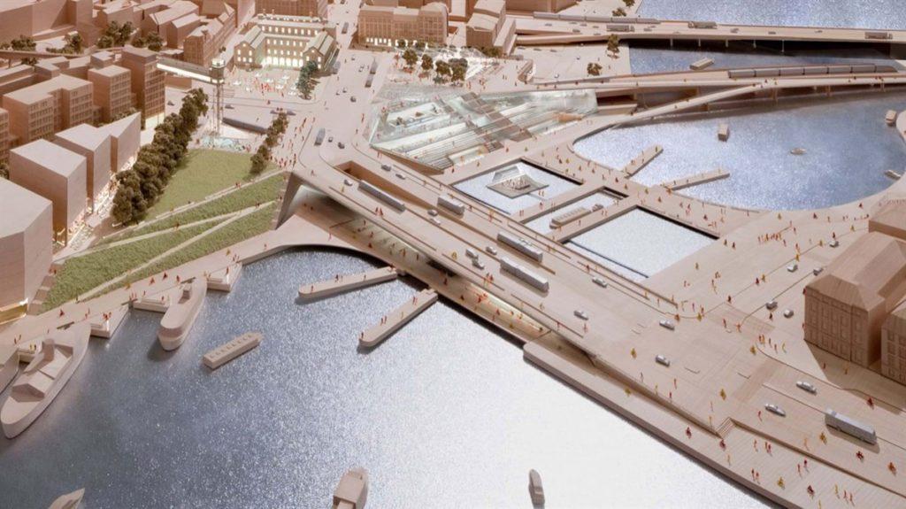 Masterplan Slussen door Foster + Partners