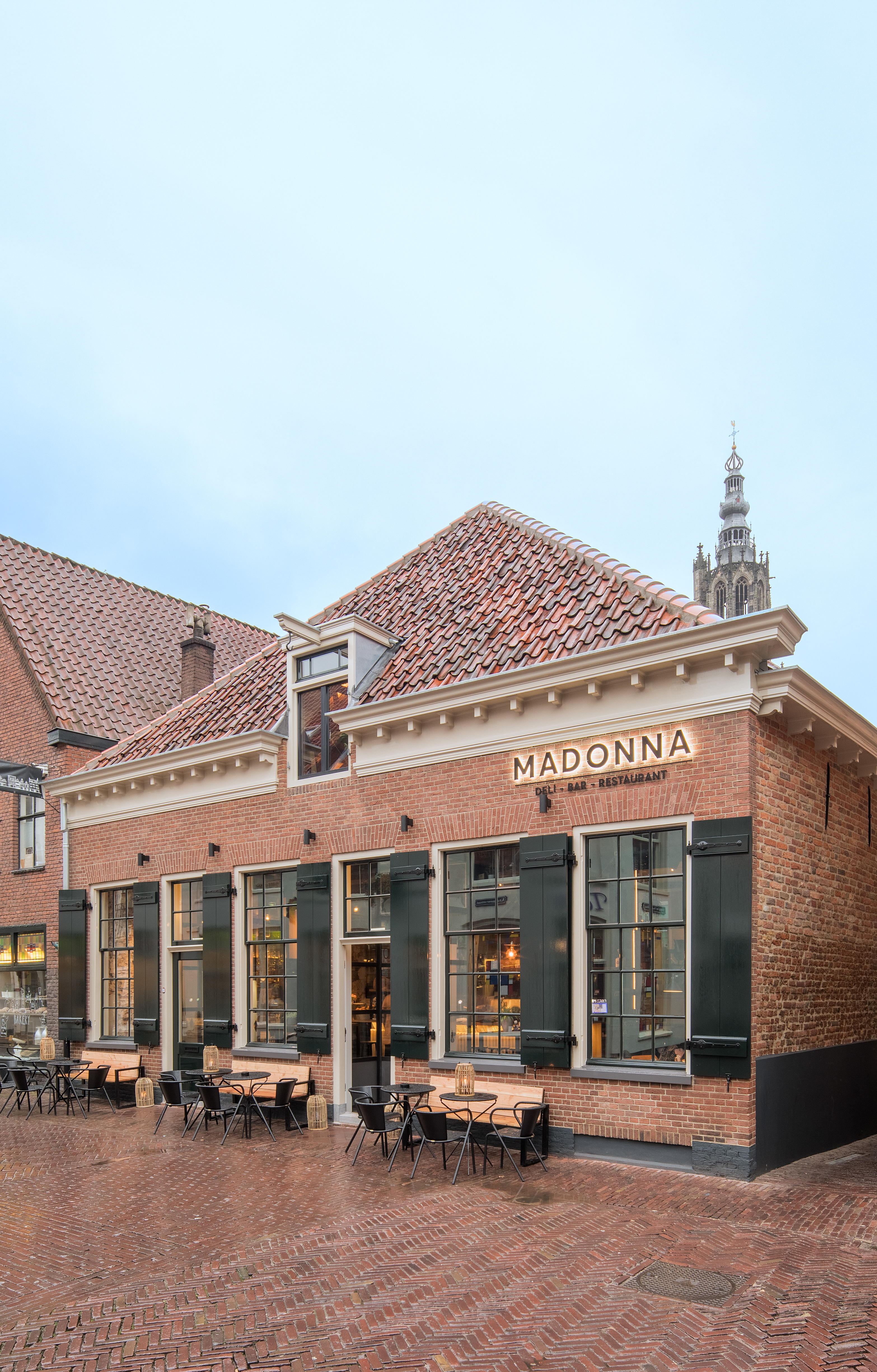 <p>Restaurant Madonna Amersfoort door Standard Studio, beeld Wouter van der Sar</p>