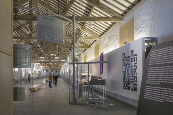 Entree Power/Architecture Exhibition aNC-arquitectos Power Architecture