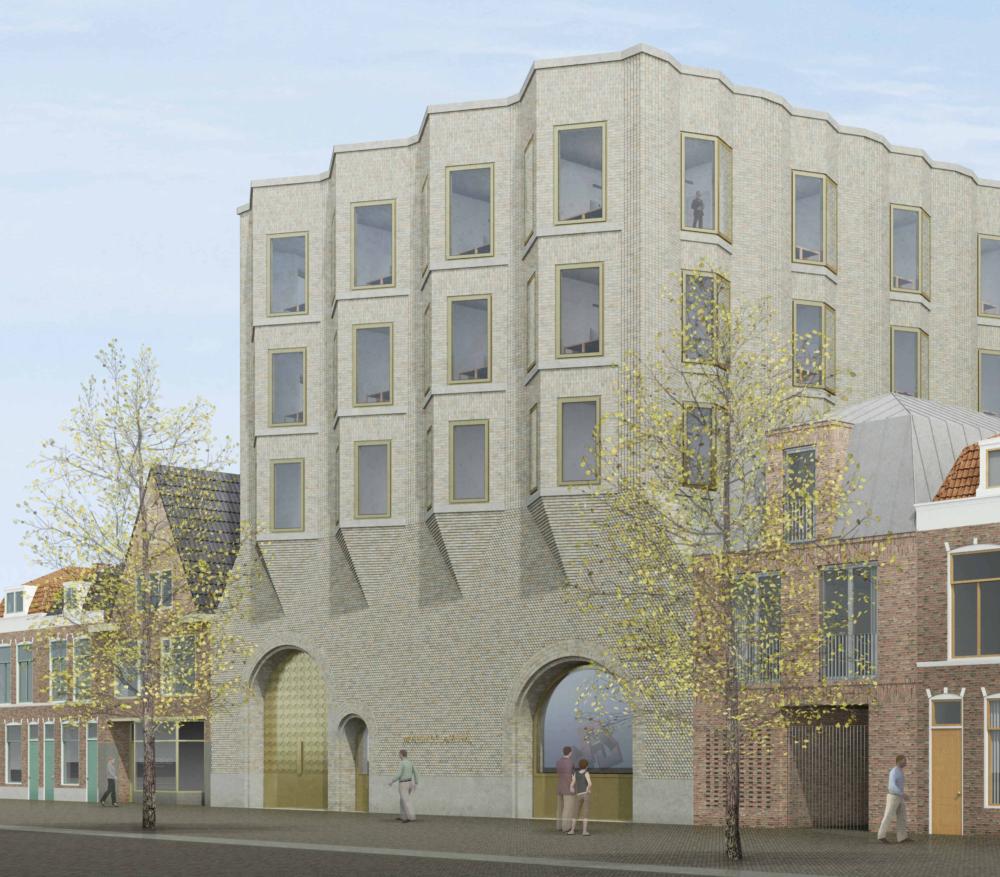 Museum De Lakenhal van HCVA en Harrap bereikt hoogste punt – Blik op de bouw