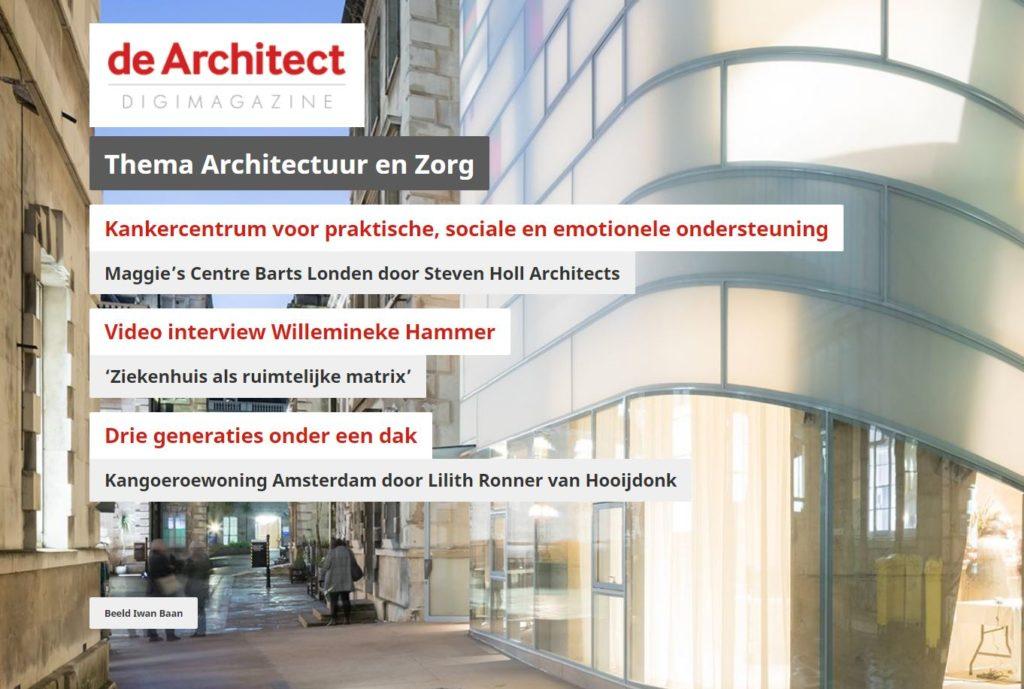 Digimagazine Architectuur en Zorg