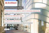 Lees nu het nieuwe Digimagazine Architectuur en Zorg