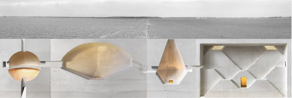 Four Chambers door Katarzyna Nowak, nominatie Prix de Rome Architectuur 2018