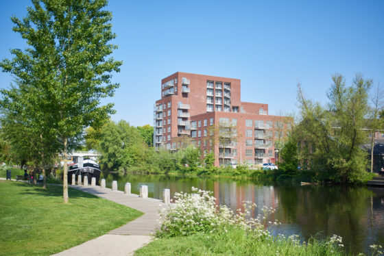 Lourdeskade te Tilburg DAT Architecten