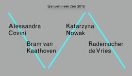 Nominaties Prix de Rome Architectuur 2018 bekend
