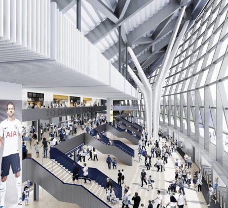 Tottenham Hotspur Stadium moet unieke fanbelevenis worden