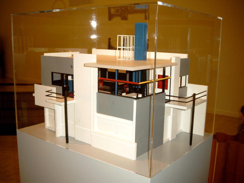 Maquette Rietveld-Schröderhuis