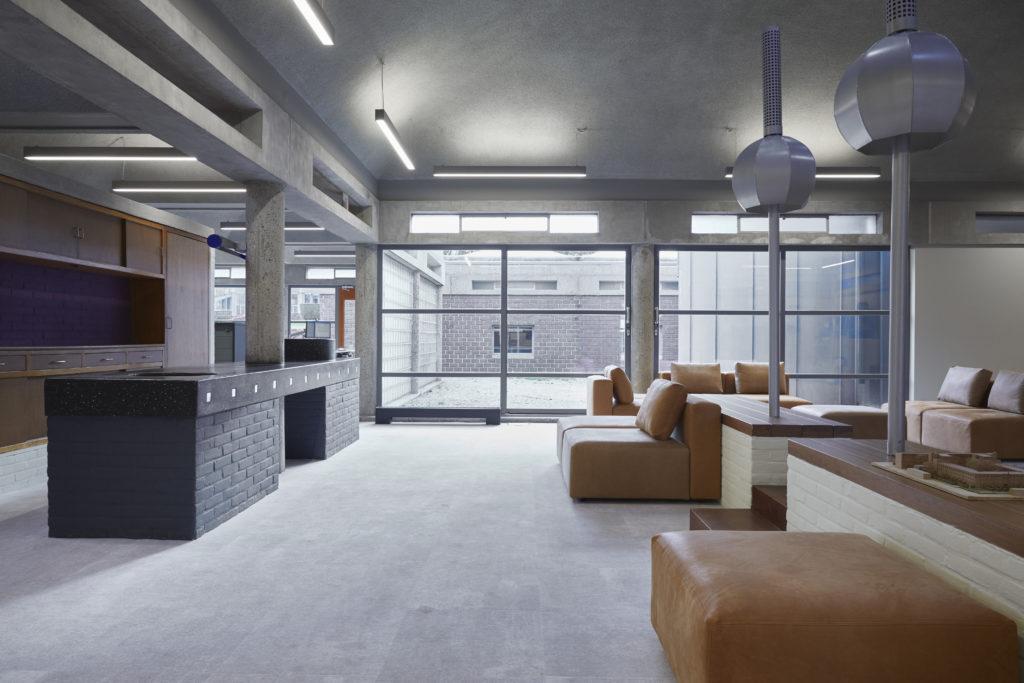 Interieur Ex Interiors, Renovatie Wessel de Jonge architecten