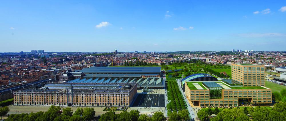 Herman Teirlinckgebouw in Brussel door Neutelings Riedijk Architecten