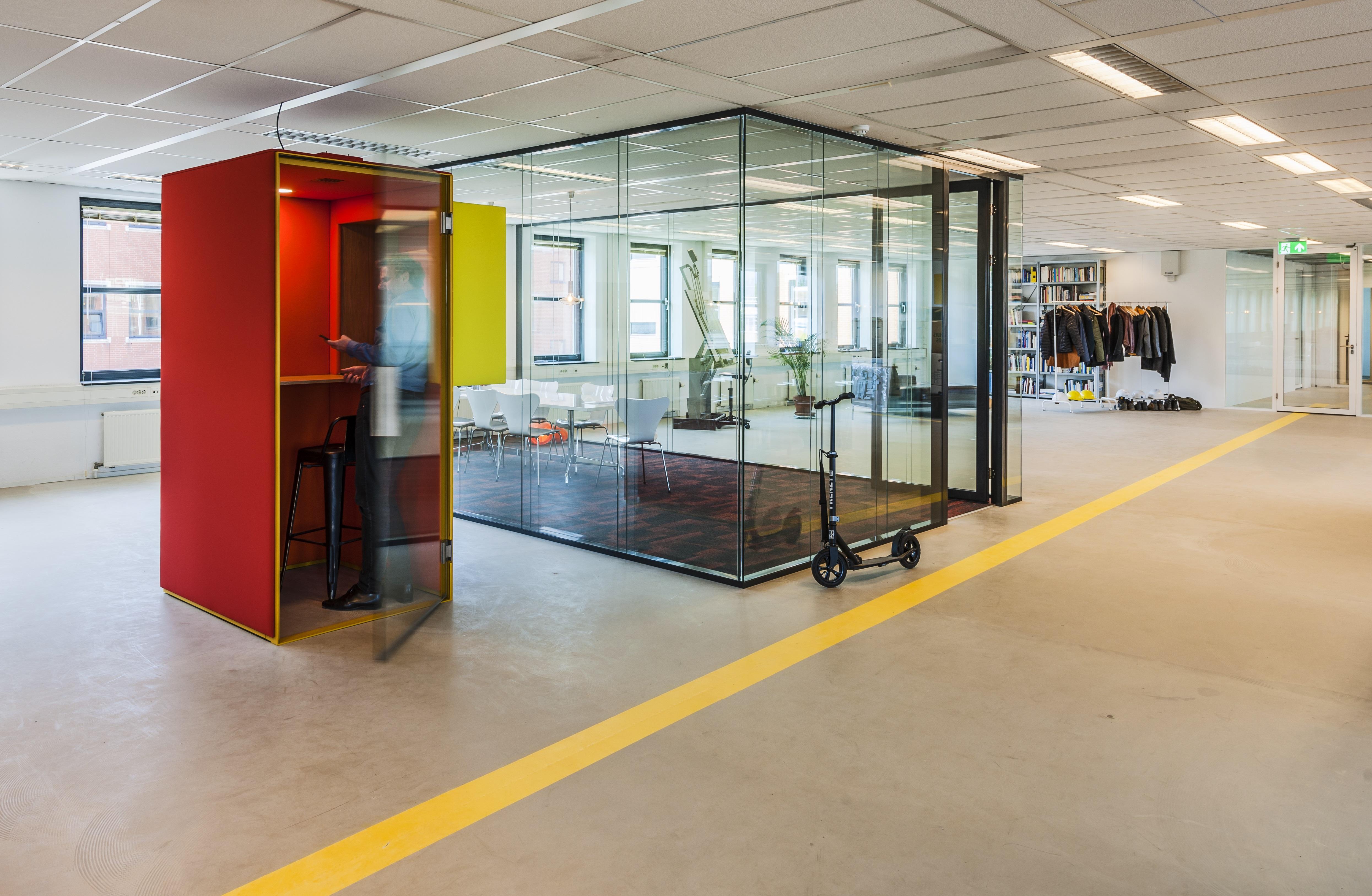 <p>Kantoor Bureau Kroner. Beeld Teo Krijgsman</p>