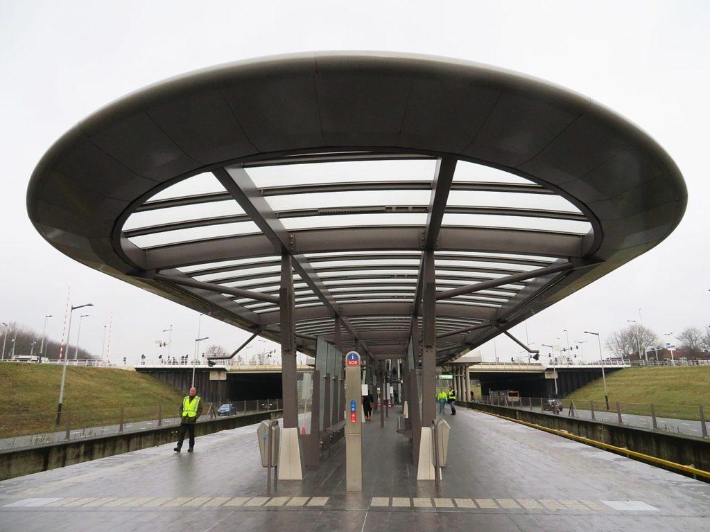 Metrostation Noorderpark Noord/Zuidlijn Amsterdam