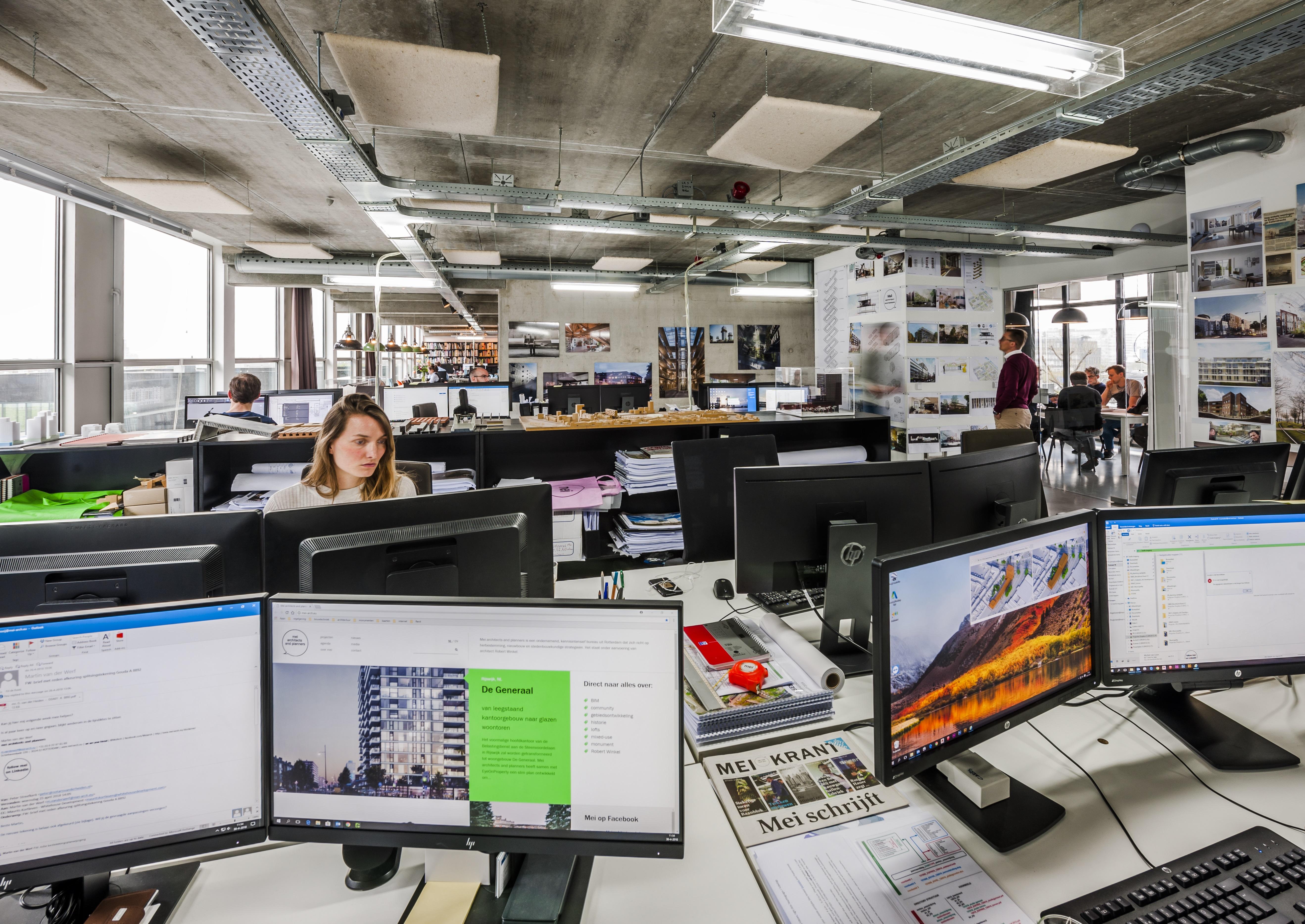 <p>Kantoor Mei_architecten. Beeld Teo Krijgsman</p>
