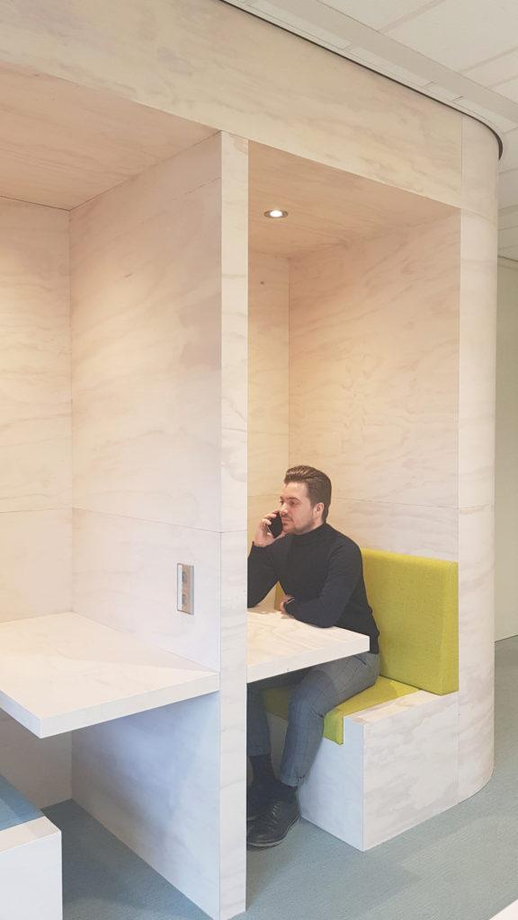 Kantooromgeving De Goede Woning in Zoetermeer door helgasnelarchitecten, beeldDaria Scagliola & Stijn Brakkee