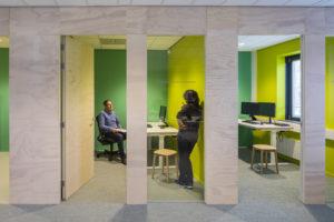 'The Sound of Silence' in het kantoor