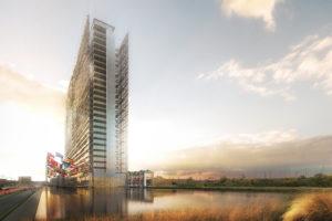 Veiligheidsbeglazing en duurzame innovaties komen samen in prestigieuze nieuwbouw EPO