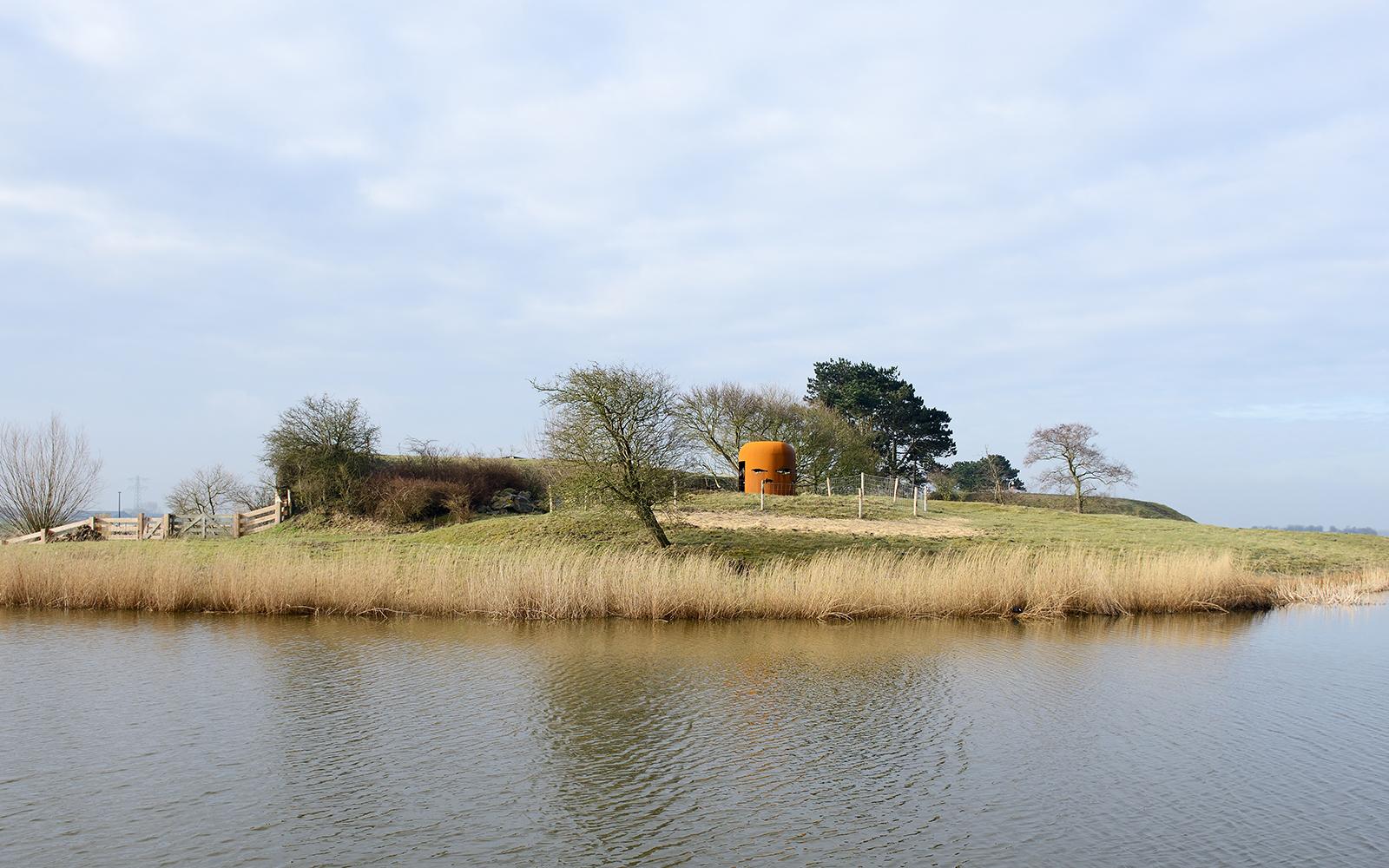 Kijkkoepel, Fort bij Krommeniedijk door BureauVanEig, beeld Allard van der Hoek