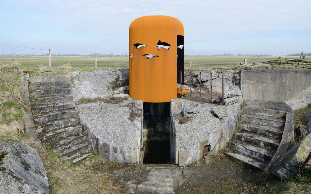 Kijkkoepel, Fort bij Krommeniedijk – BureauVanEig