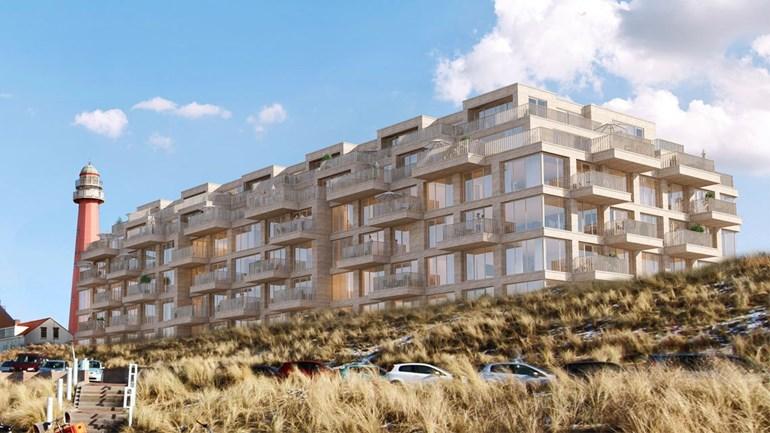 Gebouw Rijkswaterstaat Scheveningen maakt baan voor nieuw appartementencomplex