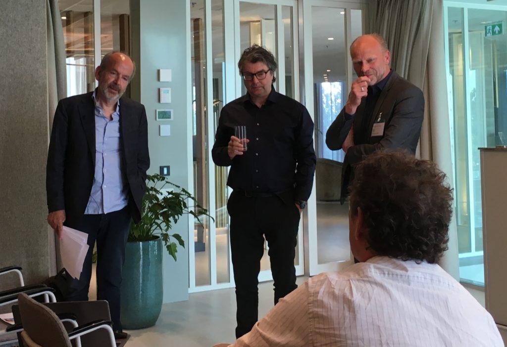 Projectbezoek QO Amsterdam met Paul de Ruiter en Robert Mulder, beeld Marianne van der Sande
