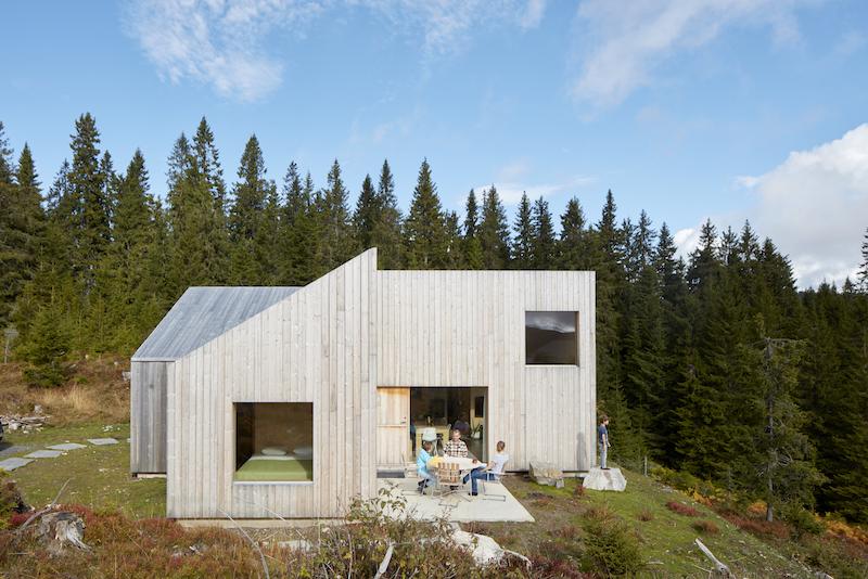 Mylla hytte, Jevnaker county- Mork-Ulnes Architects