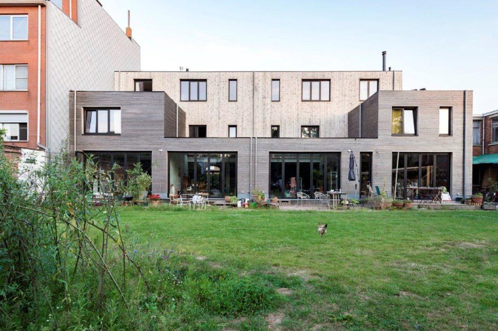 Beeld Jessy van der Werff Cohousing in voormalige rijkswachtkazerne Deurne - Polygoon Architectuur, Jouri De Pelecijn