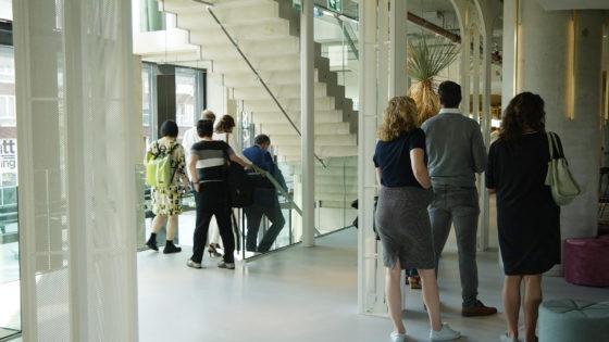 Projectbezoek QO Amsterdam met Paul de Ruiter en Robert Mulder, beeld HaafVisual