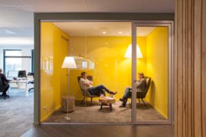 Interieur woningcorporatie Viveste, Bunnik – Studio Westgeest