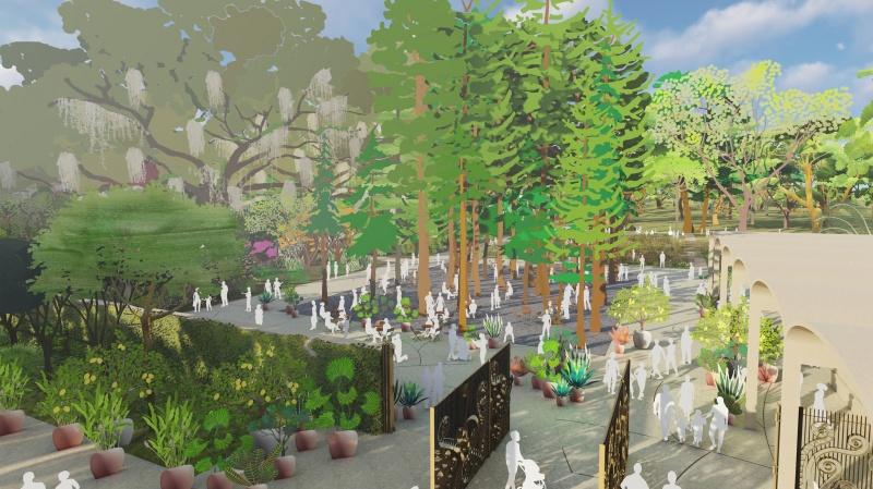 West8 Botanische Tuin Houston