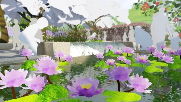 West 8 Botanische Tuin Houston