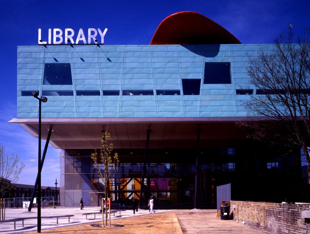 In Memoriam Will Alsop Peckham Library