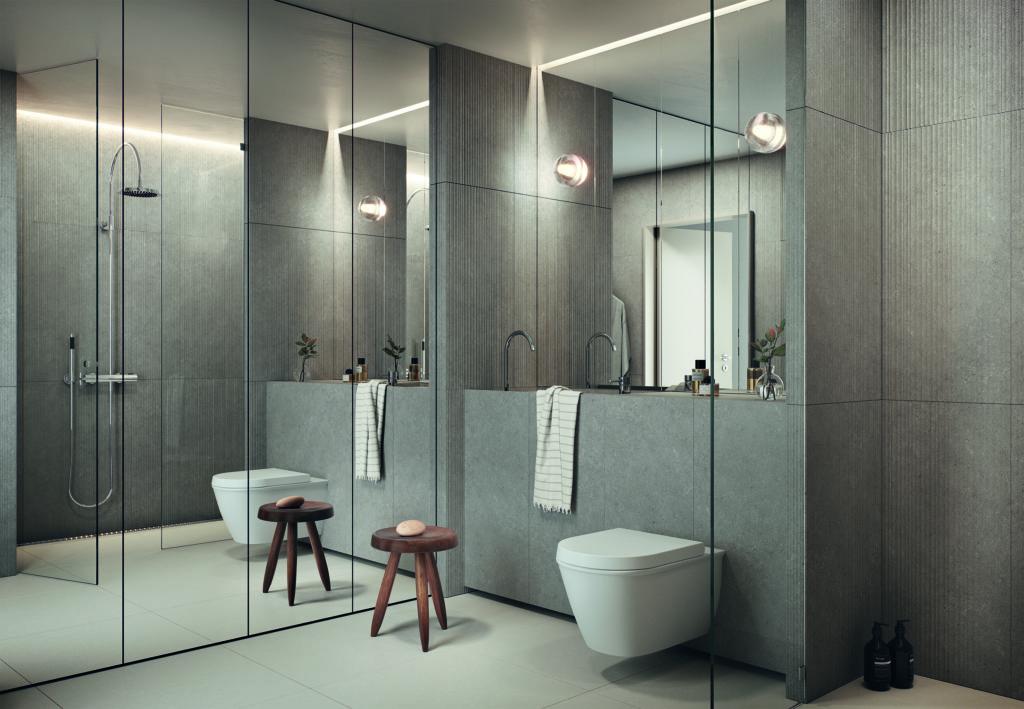 Badkamere Gasklockan. Impressie Oscar Properties