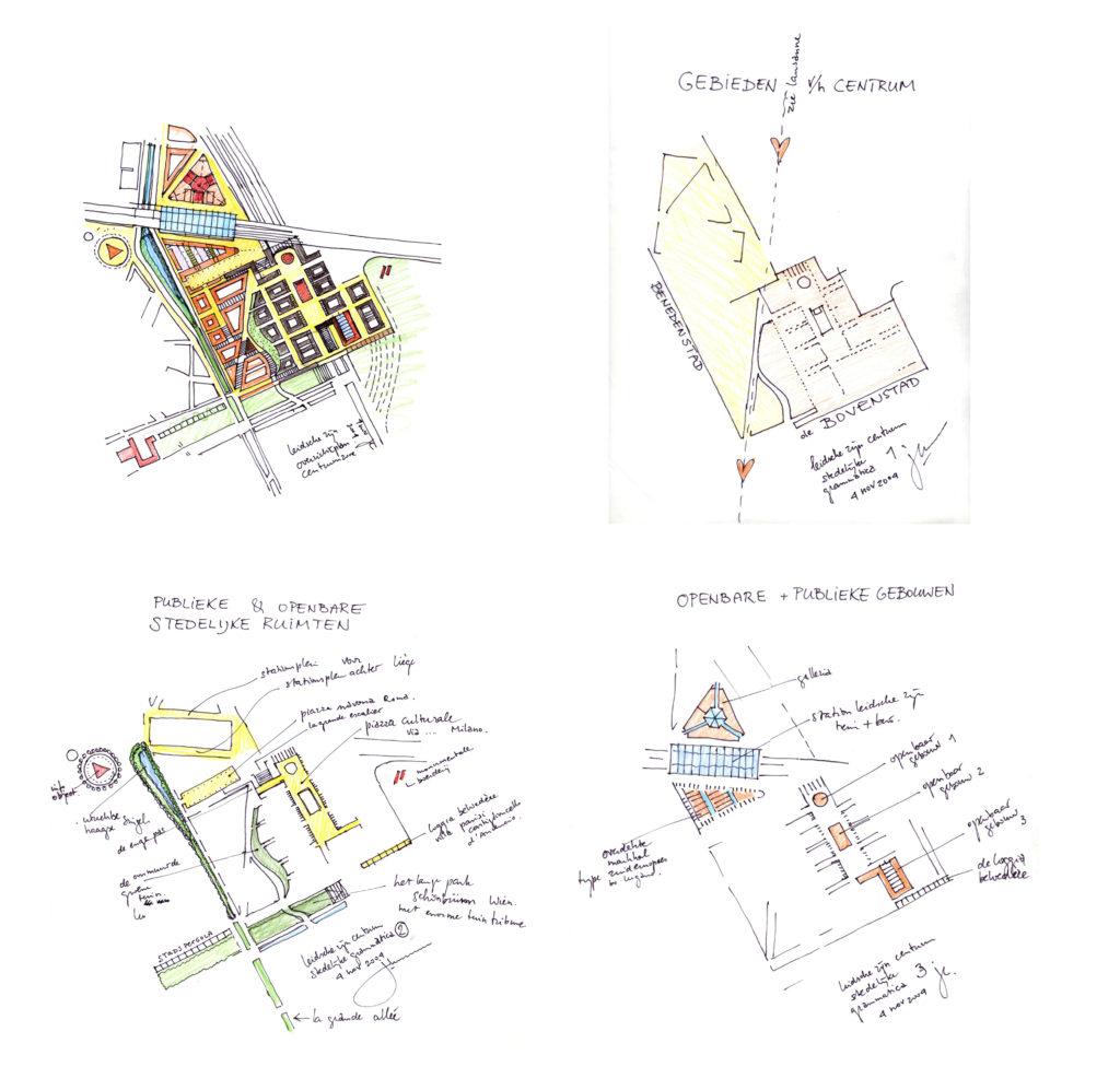 Leidsche-Rijn-Centrum - masterplan Jo Coenen Shortlist WAN Urban Challenge
