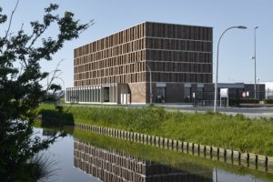 Stadsarchief van Delft door Office Winhov en Gottlieb Paludan Architects