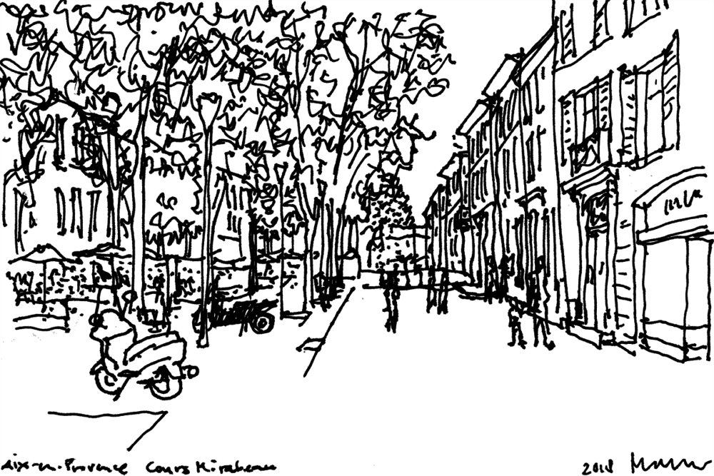Blog – Cours Mirabeau: 'Great Street' in Aix-en-Provence